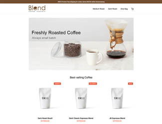 Blend Coffee Roaster
